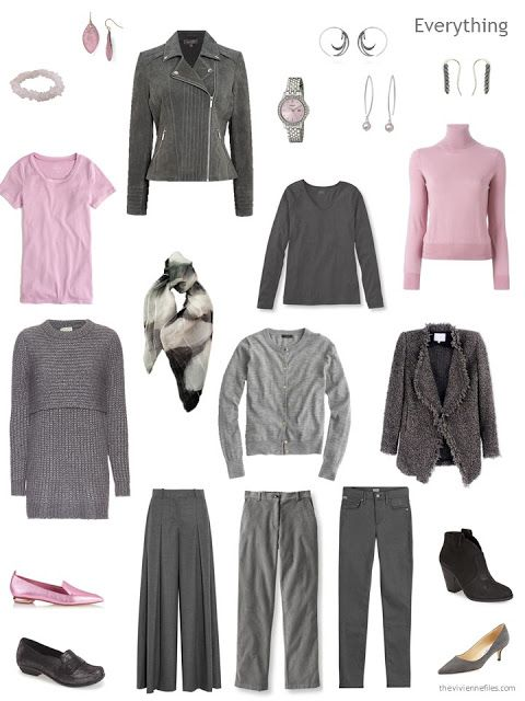 Build A Capsule Wardrobe By Starting With A Scarf: Black