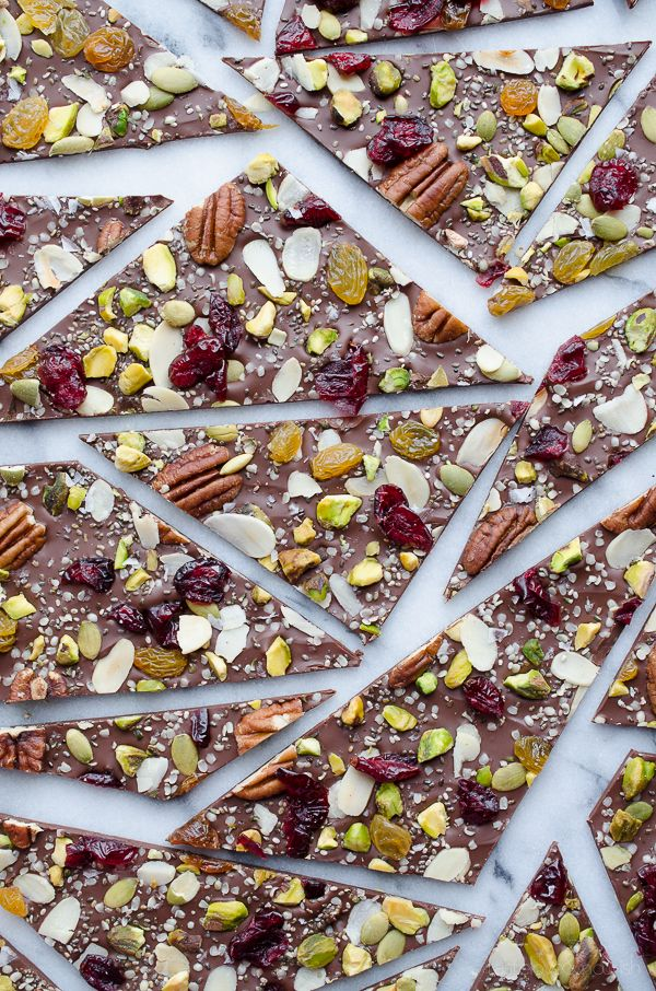 For your healthy, happy Halloween treat, this one is right up your street.
