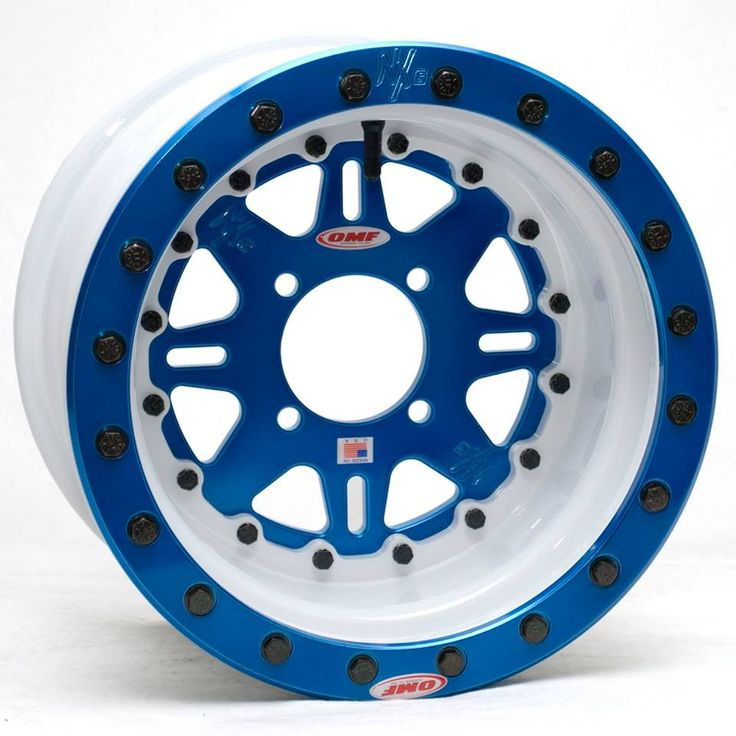 Omf Nxg 2 14 Quot 3 Piece Billet Center Beadlock Wheels Set