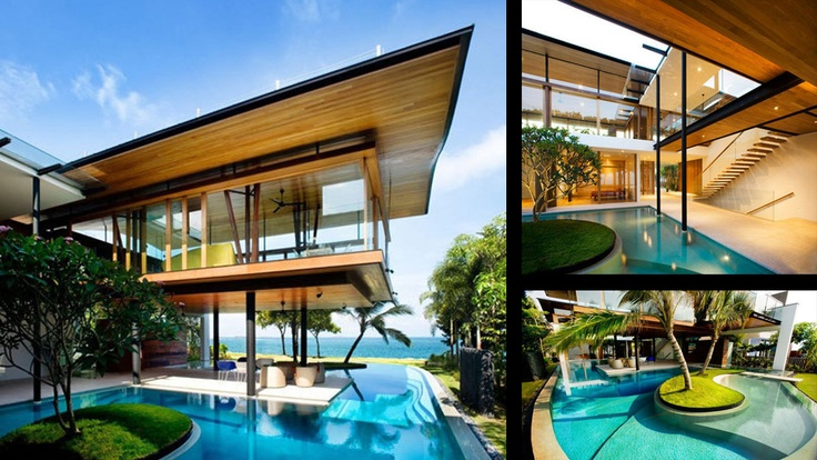 beach house with lovely pools!    4. Fish House, Singapore