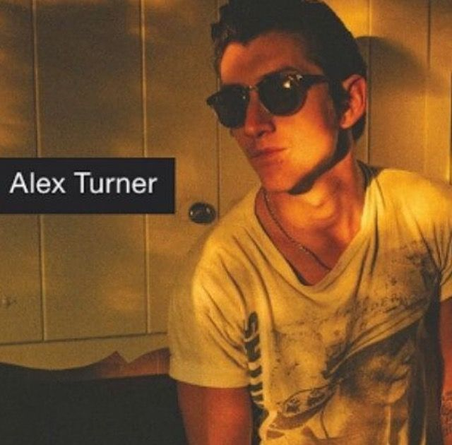 Alex Turner! <3 love this pic
