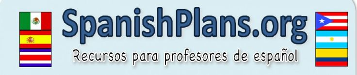 spanishplans | Spanish Lesson Plans and Units, worksheets, resources, activities