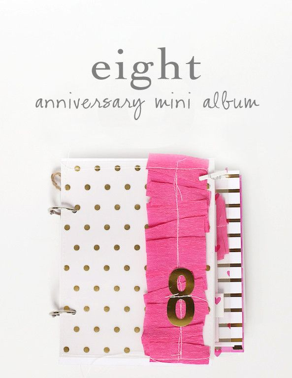 Eight: A Mini Album by stephaniebryan at @studio_calico @stephaniebbryan #studiocalico #scrapbook