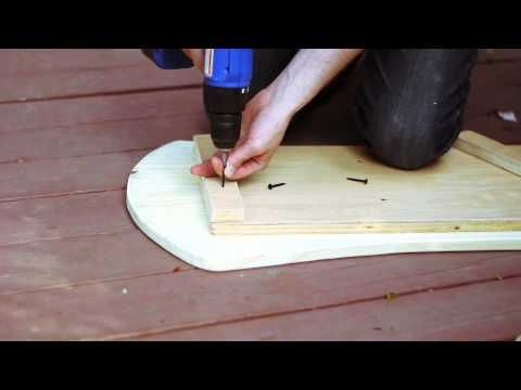 Make your own Balance Board - Modeled after Indo Board DIY - YouTube