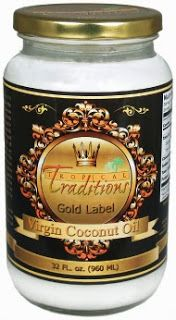 Tropical Traditions Coconut Oil Giveaway!! Ends 10/12! Open to the US and Canada!