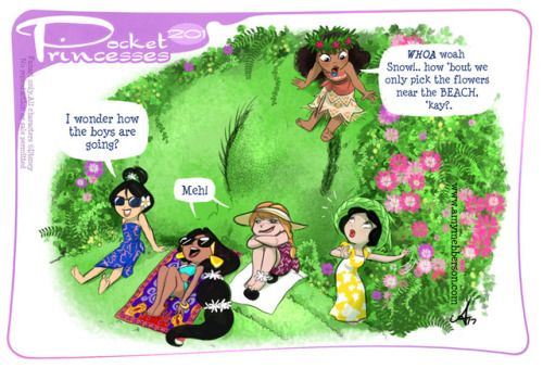 Pocket Princesses 201: VacationPlease reblog, don't repost, edit...