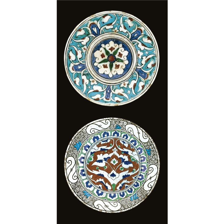 Two Iznik polychrome dishes, Turkey, circa 1600
