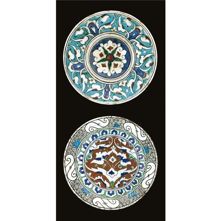 Two Iznik polychrome dishes, Turkey, circa 1600