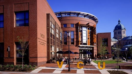 The Shafer Dining Center on the VCU (Virginia Commonwealth University) campus in Richmond, Virginia