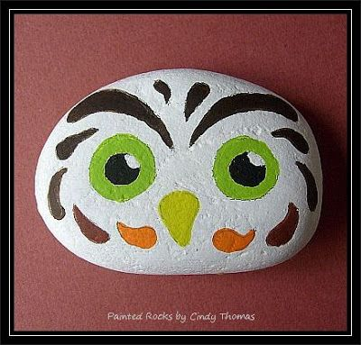 Painting Rock & Stone Animals, Nativity Sets & More