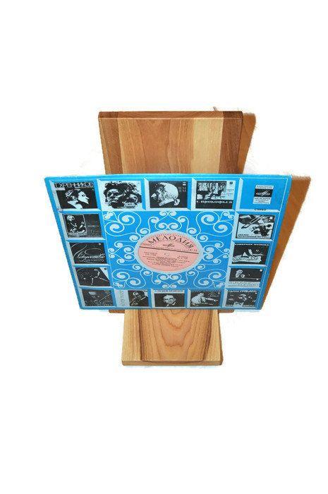 Vinyl Record storage vinyl record stand vinyl record by LumiWood