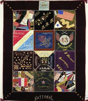 The Generals' Wives' Quilt. Collection: Ohio Historical Society.