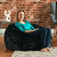 Very stylish faux fur giant bean bag for living room find out more at https://www.prizmshare.com/p/getinline/extra-special-giant-bean-bag-for-living-room