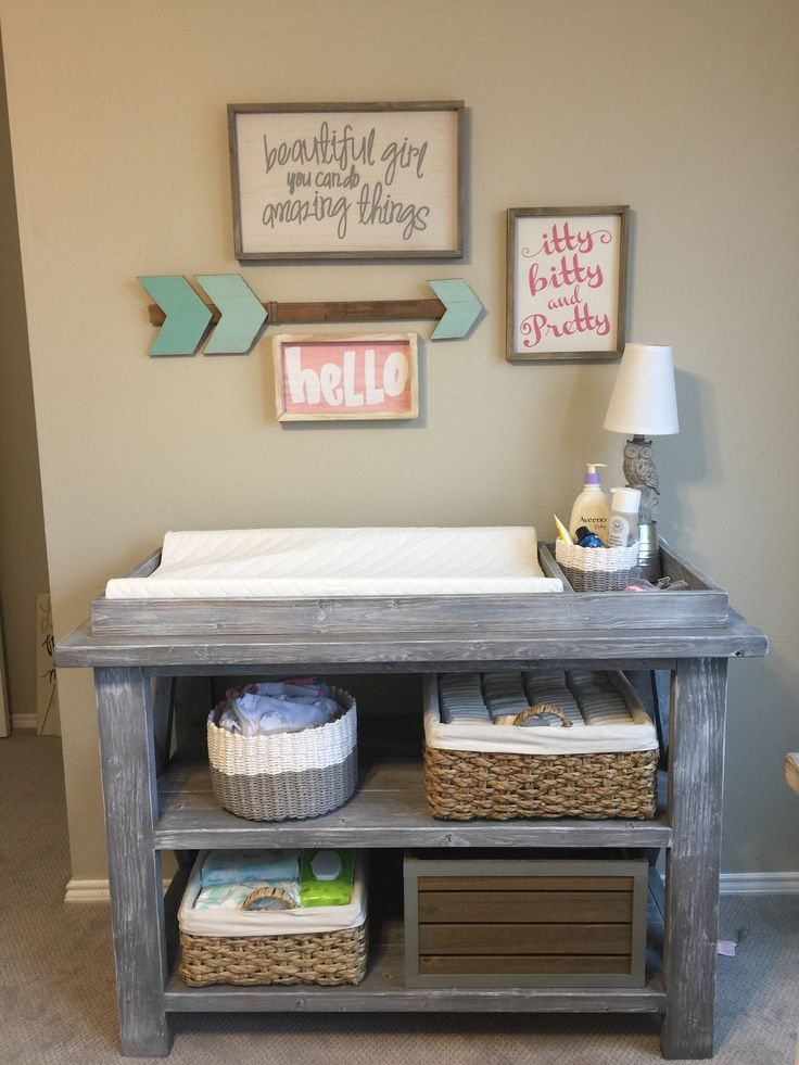 Best 25 Rustic Changing Tables Ideas On Pinterest