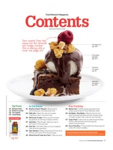 24 best Grid | 03 | Magazine images on Pinterest ...Food Magazine Table Of Contents