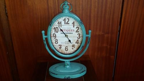 """Buy ANTIQUES THEME """"VINTAGE LOOK"""" STANDING CLOCKfor R26.00"""