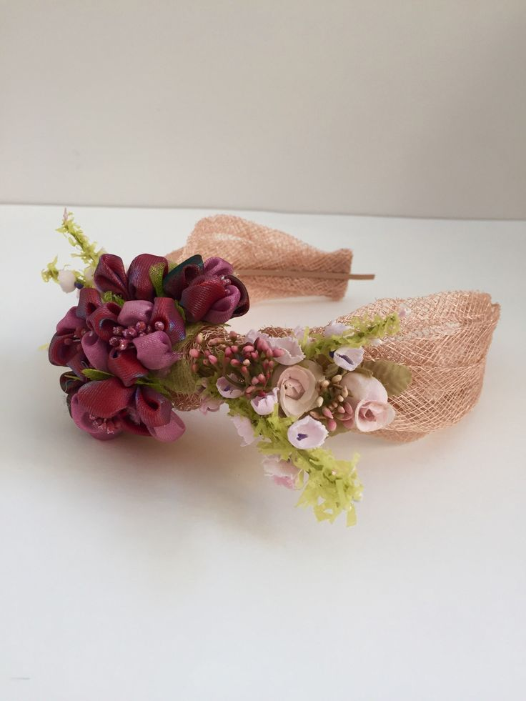 Turbante sinamay nude – Boüret Atelier