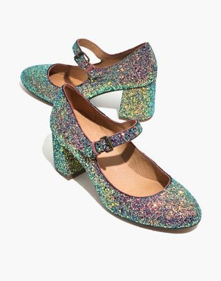 d2d4bf623e7a The Zelda Mary-Jane Pump in Glitter in violet multi image 1 ...