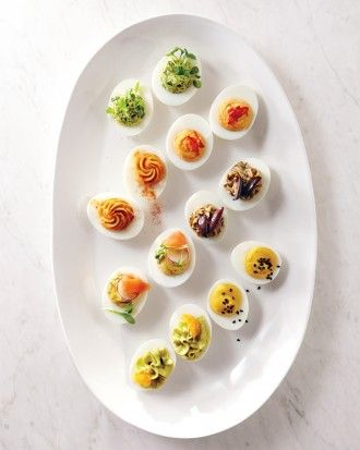 7 deviled egg recipes to make the most out of all those eggs for Easter.