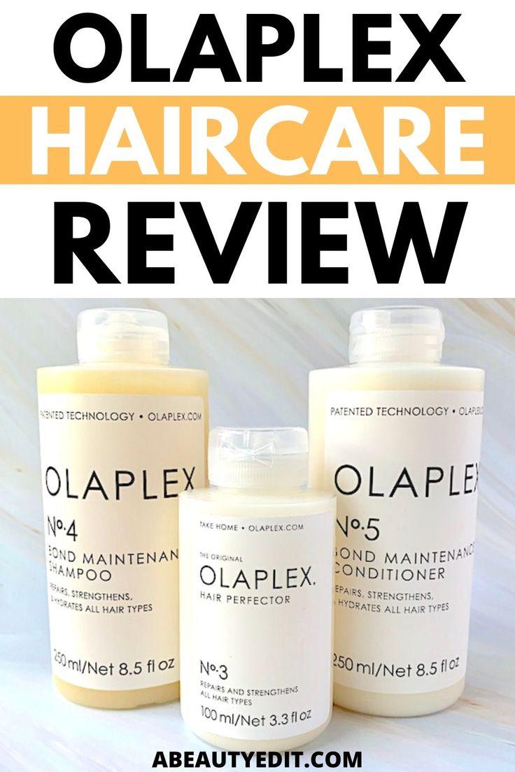 Olaplex Haircare Review A Beauty Edit in 2020 Olaplex