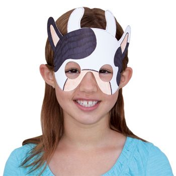This cow mask is perfect for dramatic play or a fun add on to story time. Create brown, black, spotted, or even purple cows with this adorable mask. Let's stay connected http://www.accucuteducation.com/Sign-up-for-E-mails-W3.aspx