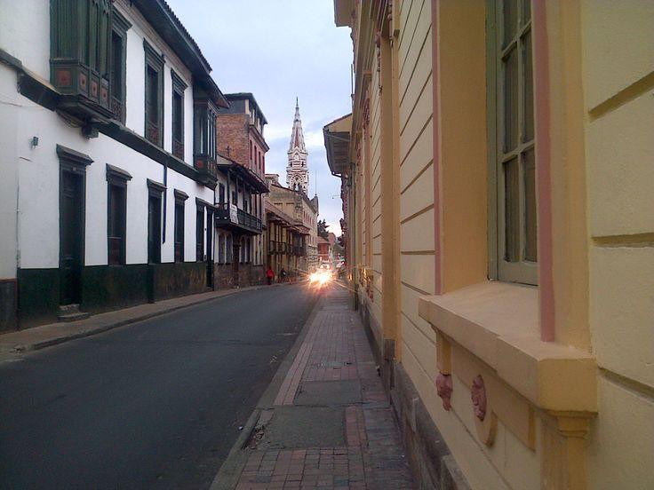 Centro histórico, Barrio La Candelaria.