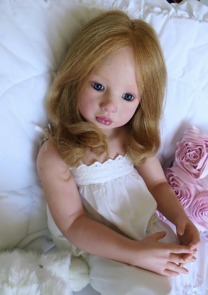 REBORN CHILD SIZE ALOENKA BY NATALIE BLICK & LULLABY LAKE SWEETEST LITTLE GIRL | eBay