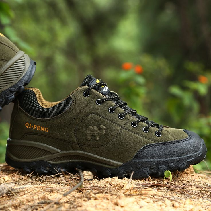 Outdoor Shoes Men Boots 2017 Spring Autumn  Leather Shoes Climbing Trekking Waterproof Men Casual Shoes Walking Breathable