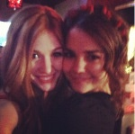Maia Mitchell and Kat McNamara (Maia will go in Austin & Ally,Jessie Cast because she is going on a Jessie episode and working with Ross)
