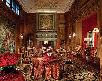 Hotel George V France Wedding Dining Room Design