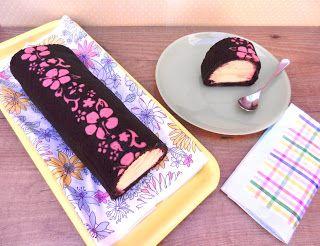 Los Dulces de Victoria: Chocolate & Vainilla Ice Cream Roll