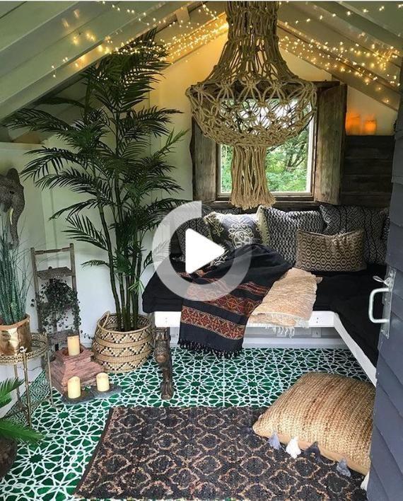 Pin On Room Ideas Chill Room Caravan Interior Shed Interior