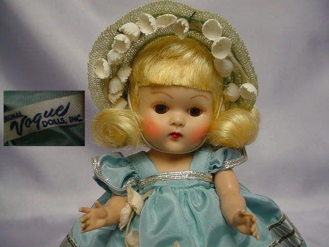 VOGUE Ginny Blonde Strung Doll 1953 CHERYL MINTY