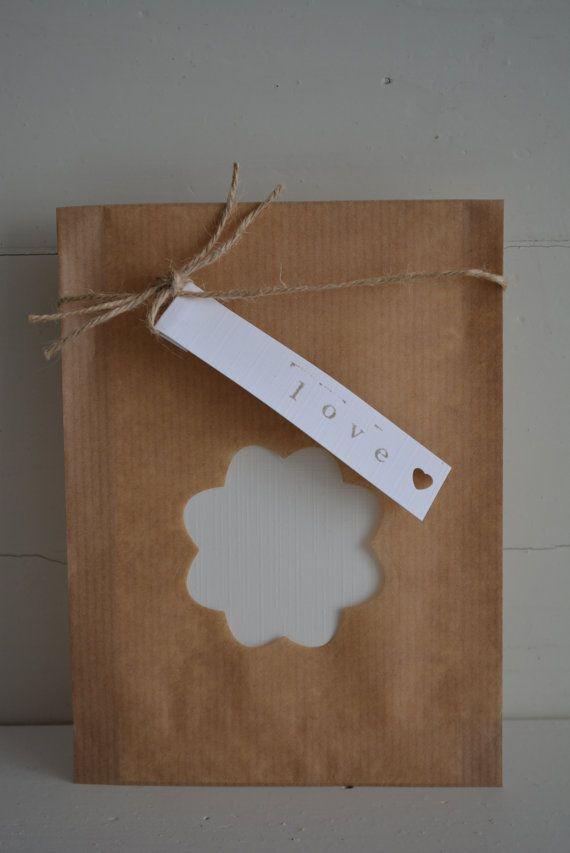 13 best brown bags images on pinterest brown bags brown for Papieren kraft zakjes