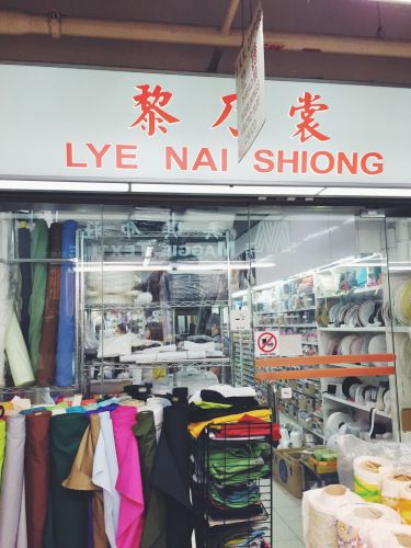 Fabric Shopping in Singapore: Chinatown | Sew What?