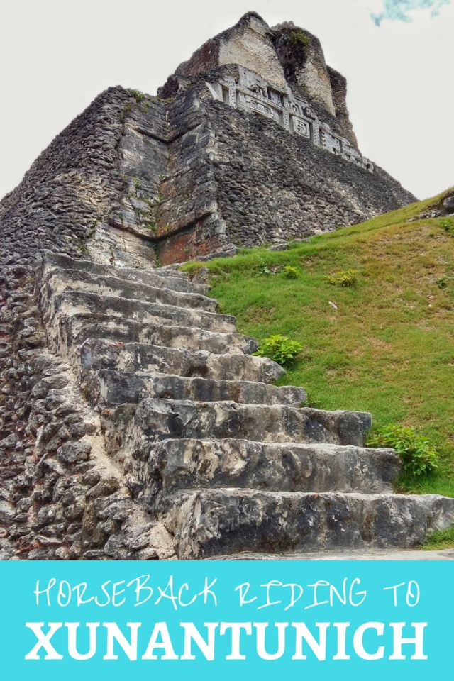 San Ignacio in Belize has plenty of things to do, but one of my favourite activities in San Ignacio was horse riding to Xunantunich Mayan ruins. | horseback riding tour to Xunantunich |