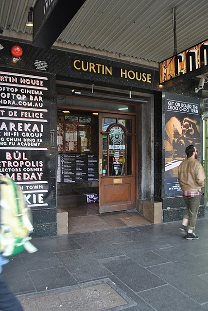 curtin house Swanston st melbourne, rooftop bar and cinema