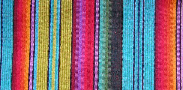 Blues and Greens Fabric | Blue Stripe Fabrics | Multi Striped Interior Stripes: Snorkelling