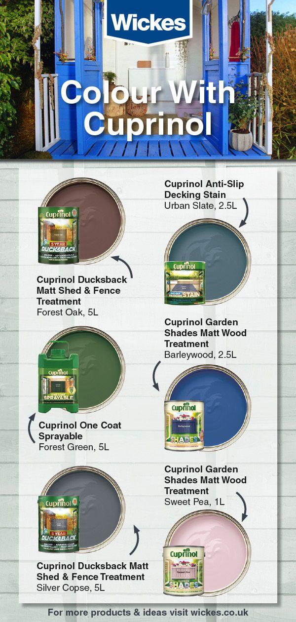 Colour With Cuprinol Fence Paint Cuprinol Fence Treatment