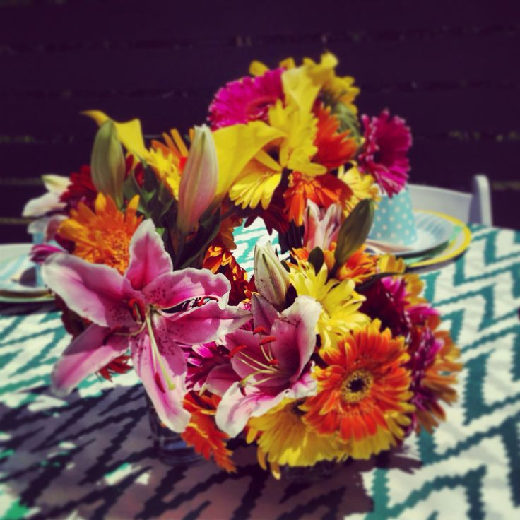 Tropical Florals -Private Pool Party 2014