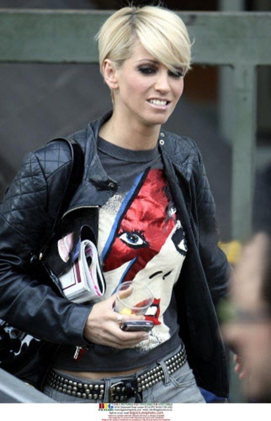 Sarah Harding hair...again lol