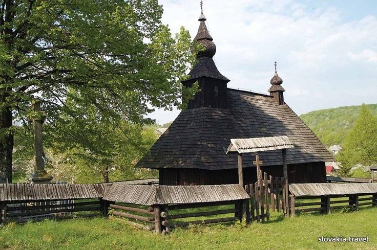Slovakia, Hrabová Roztoka - Wooden church