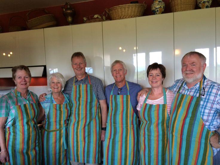 A delightful group of Norwegian cooking class students today at Flavor of Italy!