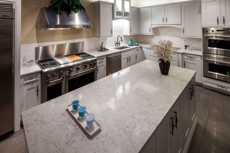 Lyra Silestone Kitchen and Island