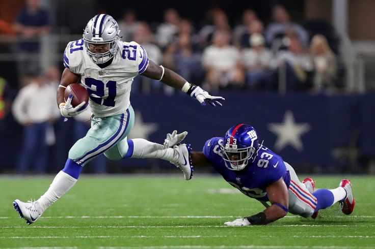 Cowboys' Elliott relieved to be playing after suspension blocked