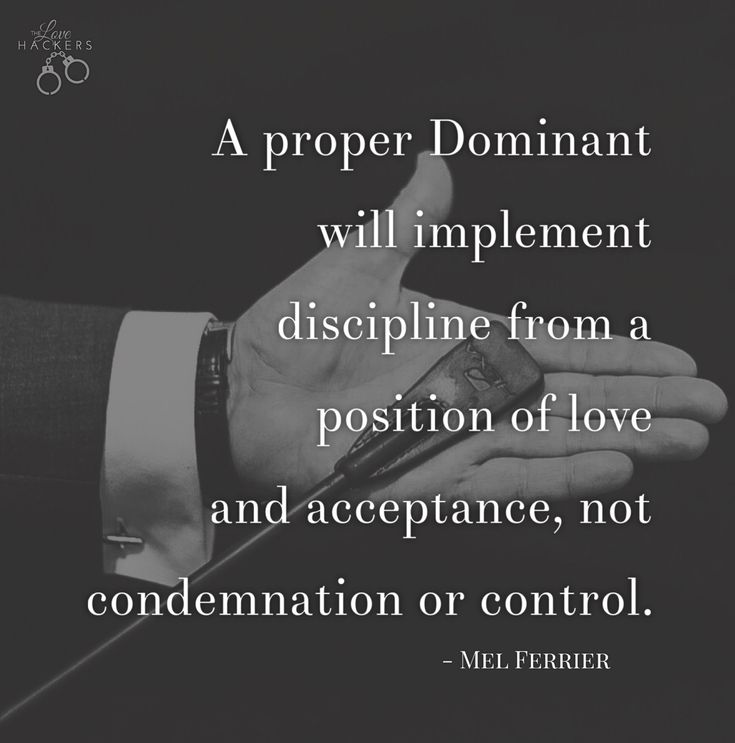 the Art of Dominance