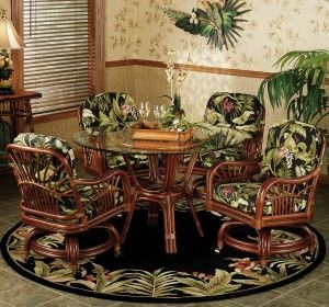 round kitchen table with caster chairs on floral rug area dining room table set with caster