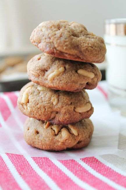 Rice Crispy Peanut Butter Cookies - The Honour System