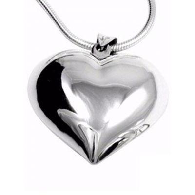 Jewellery :: .925 Silver :: Silver heart pendant - $49