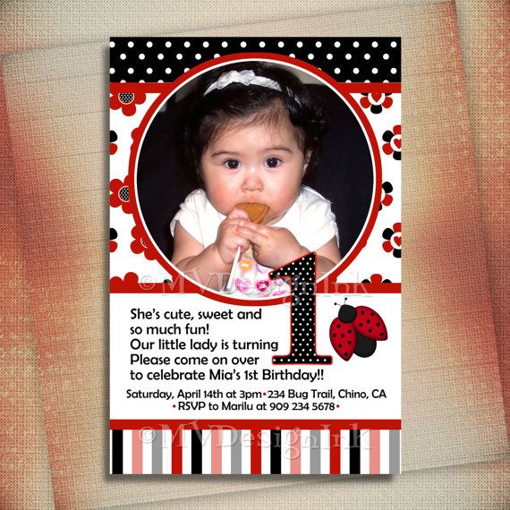 Best 25 ladybug birthday invitations ideas on pinterest ladybug red ladybug birthday invitation ladybug birthday invite red ladybug photo birthday invite little ladybug invite diy stopboris